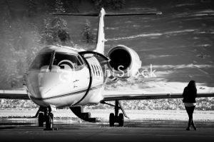 FlightStock Image of a plane