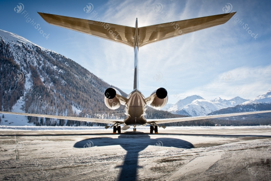 Standing Out in the World of Business Aviation Stock Photos