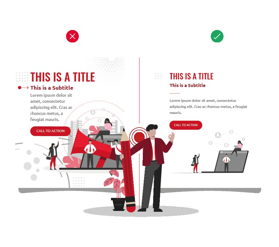 Improve your marketing design: titles